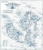 San Juan County Map, San Juan County 1970c